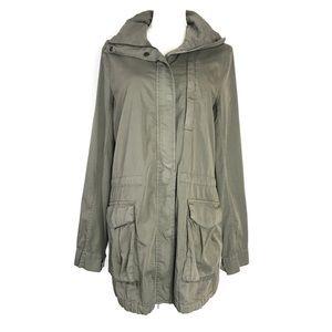 James Perse Utility Jacket olive Green Parka